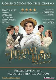 "Movie poster for ""THE IMPORTANCE OF BEING EARNEST"""