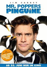 """Filmplakat für """"Mr. Poppers Pinguine"""""""