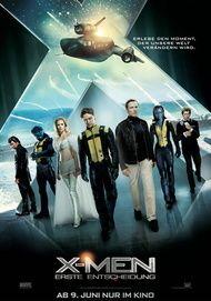 """Filmplakat für """"X-Men: Erste Entscheidung"""""""