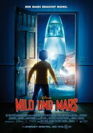 """Movie poster for """"Mars Needs Moms!"""""""