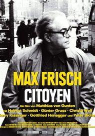 """Filmplakat für """"Max Frisch, Citoyen"""""""