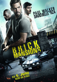 """Movie poster for """"Brick Mansions"""""""