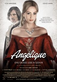 "Movie poster for ""Angélique, marquise des anges"""