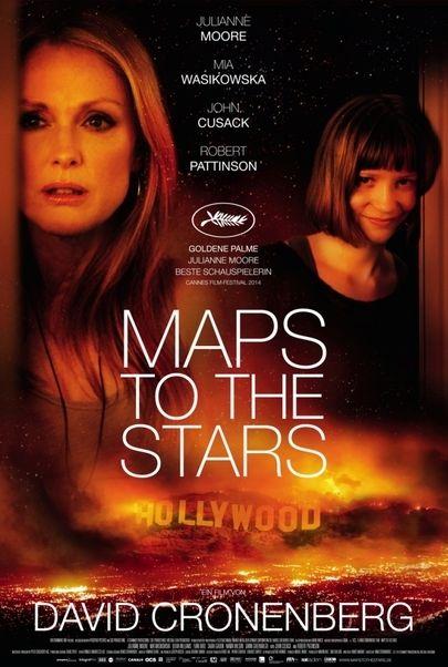 """Filmplakat für """"MAPS TO THE STARS"""""""