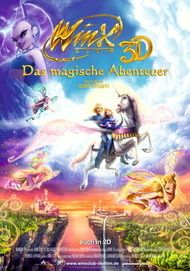 """Movie poster for """"Winx Club 3D"""""""