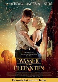 """Filmplakat für """"Wasser für die Elefanten"""""""