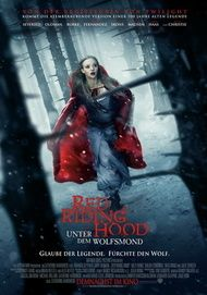 "Movie poster for ""Red Riding Hood"""