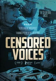 """Movie poster for """"CENSORED VOICES"""""""