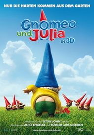 """Movie poster for """"Gnomeo and Juliet"""""""