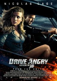 "Movie poster for ""Drive Angry"""