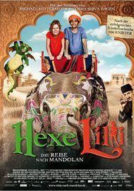 """Movie poster for """"Hexe Lilli - Die Reise nach Mandolan"""""""