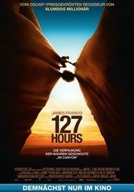 """Filmplakat für """"127 HOURS"""""""
