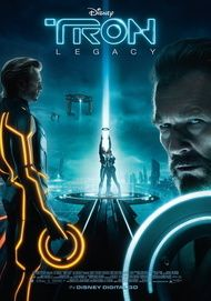 """Movie poster for """"Tron: Legacy"""""""