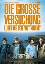 """Filmplakat für """"Die große Versuchung – Lügen, bis der Arzt kommt"""""""