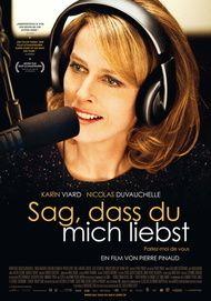 """Movie poster for """"Parlez-moi de vous"""""""