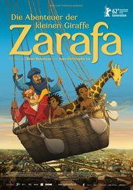 """Filmplakat für """"Die Abenteuer der kleinen Giraffe Zarafa"""""""
