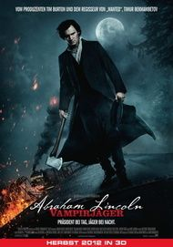 "Filmplakat für ""Abraham Lincoln - Vampirjäger"""
