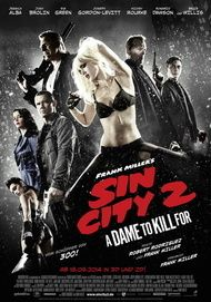 "Filmplakat für ""SIN CITY : A DAME TO KILL FOR"""