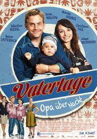 """Filmplakat für """"Vatertage - Opa über Nacht"""""""