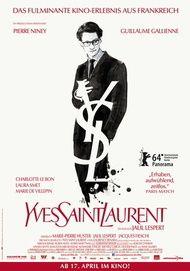 "Filmplakat für ""YVES SAINT LAURENT"""