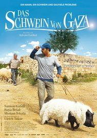 """Filmplakat für """"DAS SCHWEIN VON GAZA"""""""