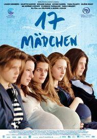 """Filmplakat für """"17 Mädchen"""""""