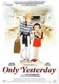 "Movie poster for ""ONLY YESTERDAY (2K REMASTERED)"""