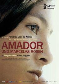 """Filmplakat für """"Amador und Marcelas Rosen"""""""