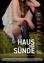 """Filmplakat für """"Haus der Sünde"""""""