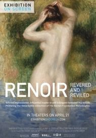 "Movie poster for ""RENOIR: REVERED AND REVILED"""