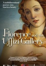 "Movie poster for ""FLORENCE AND THE UFFIZI GALLERY"""