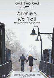 """Filmplakat für """"Stories we tell"""""""