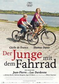 """Filmplakat für """"Der Junge mit dem Fahrrad"""""""