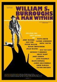 """Filmplakat für """"William S. Burroughs - A Man Within"""""""