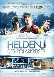 """Filmplakat für """"Helden des Polarkreises"""""""