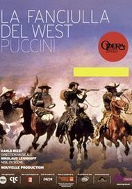 """Movie poster for """"FANCIULLA DEL WEST"""""""