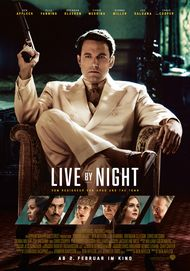 "Filmplakat für ""LIVE BY NIGHT"""