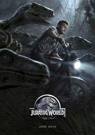 """Filmplakat für """"JURASSIC WORLD"""""""