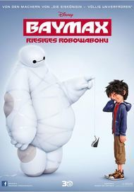 """Movie poster for """"Big Hero 6"""""""