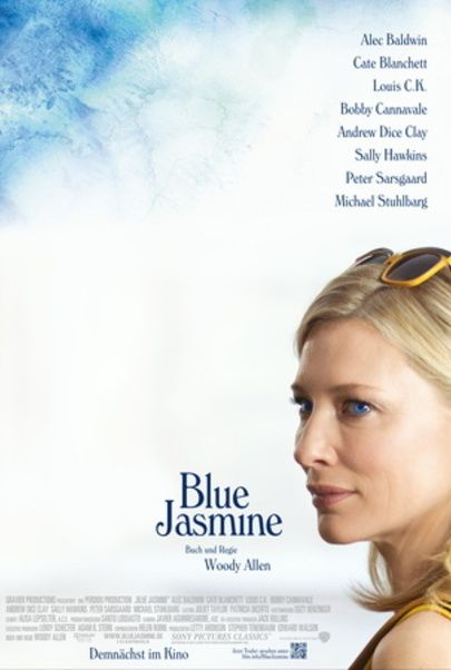 "Movie poster for ""BLUE JASMINE"""
