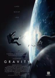 """Filmplakat für """"GRAVITY"""""""