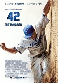 """Movie poster for """"42"""""""