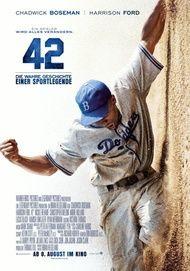 """Filmplakat für """"42 - Die wahre Geschichte einer Sportlegende"""""""
