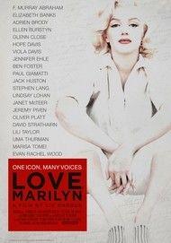"""Filmplakat für """"Love, Marilyn"""""""