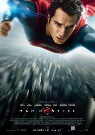 "Filmplakat für ""MAN OF STEEL"""