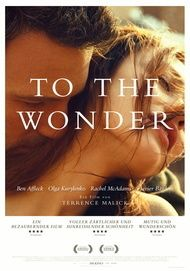"Filmplakat für ""TO THE WONDER"""
