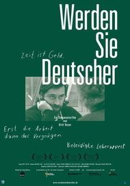 """Filmplakat für """"Werden Sie Deutscher"""""""
