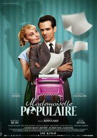 """Filmplakat für """"Mademoiselle Populaire"""""""