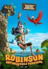 "Póster para ""Robinson, una aventura tropical """