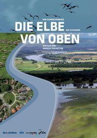 """Filmplakat für """"Die Elbe von oben"""""""